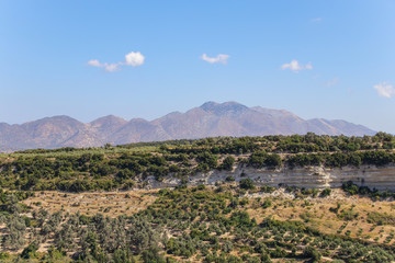 Margarites Gorge, West Crete, Rethymno, Panorama