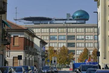 Torino - Pista d'atterraggio elicotteri sul Lingotto