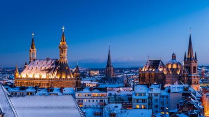Aachen im Schnee