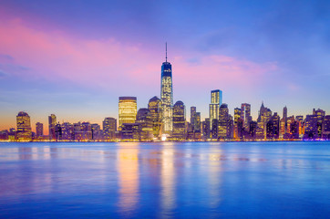 Fototapete - Manhattan Skyline