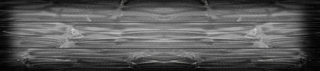 panorama black wood textured