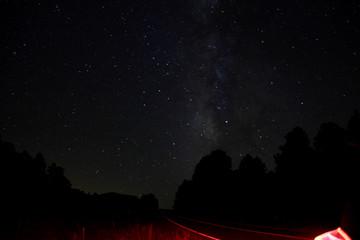 Langzeitbelichtung Nachthimmel - 2