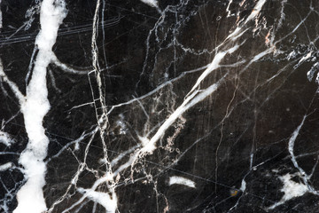 natural black marquina marble stone texture pattern
