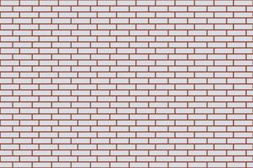 White texture, seamless brick wall