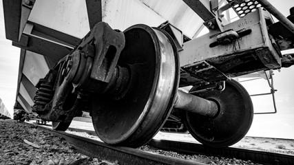 train wheel