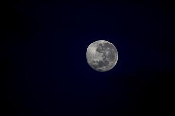 Der Mond über Tansania