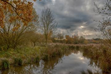 River Oughton, Hitchin, Hertfordshire