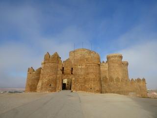 Belmonte, poblacion historica de Cuenca ( Castilla la Mancha, España)