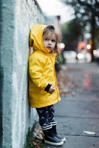 3a9879377 Girl in Yellow Raincoat