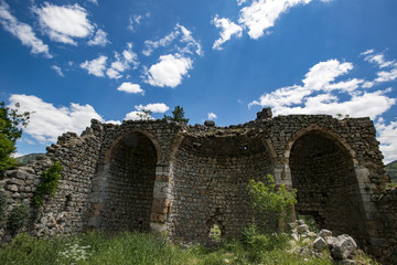 Saimbeyli Castle From Adana in Turkey