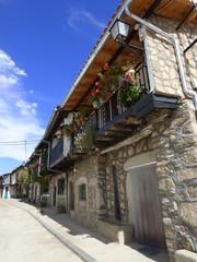 Calzada de Béjar, pueblo de Salamanca (Castilla y Leon, España)