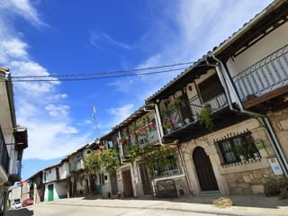 Calzada de Bejar, localidad de Salamanca (Castilla y Leon, España) Ruta de la Plata y Camino de Santiago