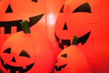 pumpkin face balloon