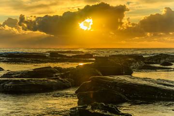 Golden Hour Sunrise Seascape