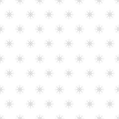 seamless pattern of snowflakes on a white background. For posters, postcards, greeting for Christmas, new year.
