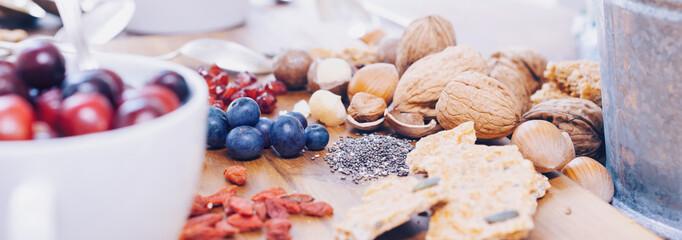 Superfood - variation of healthy superfoods