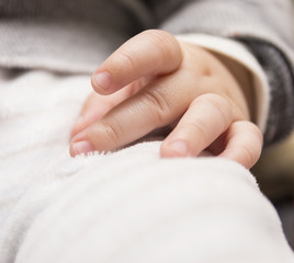 Hand of a baby