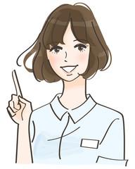 看護師の女性 イメージ