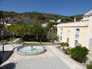 Baños de Montemayor, pueblo de Caceres ( Extremadura, España)