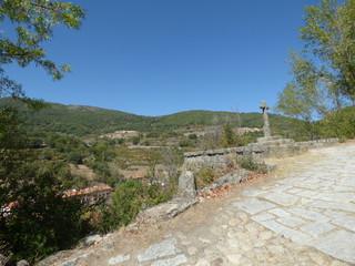 Calzada romana de Baños de Montemayor (Cáceres). Camino de Santiago en Extremadura