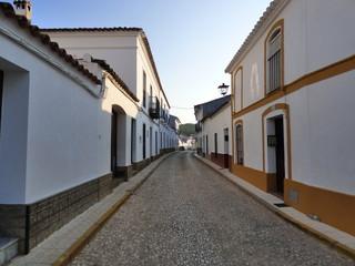 Campofrio. Pueblo español de la provincia de Huelva, Andalucía (España)