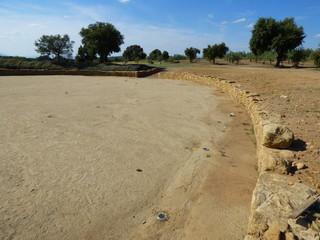 Yacimiento romano de Caparra en Caceres (Extremadura,España)