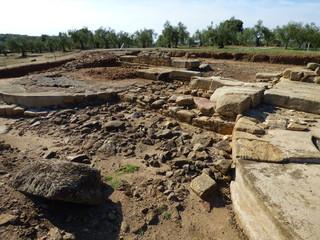 Ruinas romanas de Cáparra  en Oliva de Plasencia ( Caceres, Extremadura)