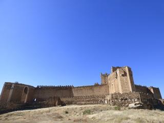 Castillo de Montalban en Toledo ( Castilla La mancha, España) Fotografia aerea con Drone