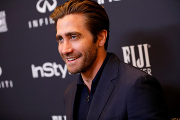Actor Jake Gyllenhaal attends the Hollywood Foreign Press Association (HFPA) and InStyle celebration of the 75th Annual Golden Globe Awards season at Catch LA in West Hollywood