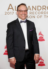 Musician Julio Bague arrives for the 2017 Latin Recording Academy Person of the Year Gala in Las Vegas