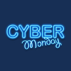 The cyber monday concept
