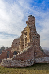 Red Church - large partially preserved late Roman (early Byzantine) Christian basilica near town of Perushtitsa, Plovdiv Region, Bulgaria