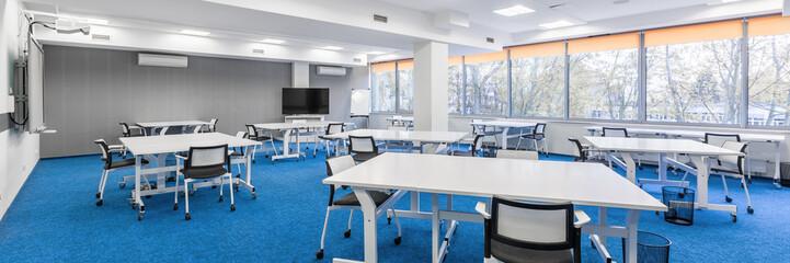University communal study room