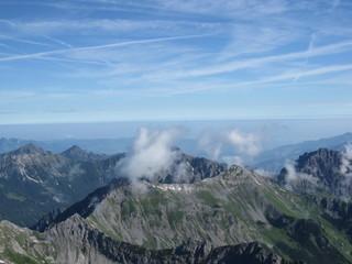 Panorama Rätikon Schweiz