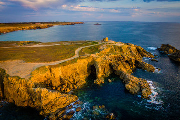 Drone view of Quiberon