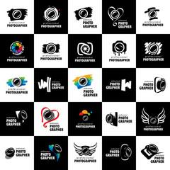vector logo for photographer