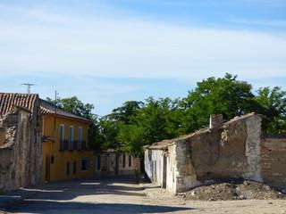 Caudilla, pueblo abandonado de Toledo, en Castilla-La Mancha (España)