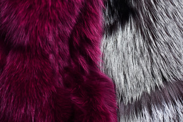 Artificial fur for texture or background. Eco friendly fashion