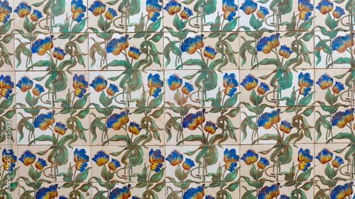 Azulejos Traditionelle Portugiesische Fliesen Mit Blumenmuster - Portugiesische fliesen kaufen