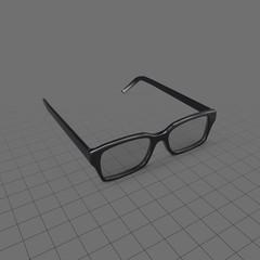 Glasses Open