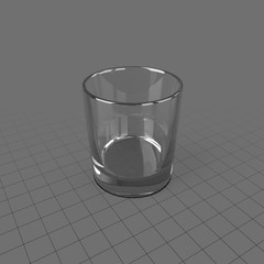 Whiskey Old Fashioned Glass
