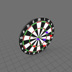 Darts With Target