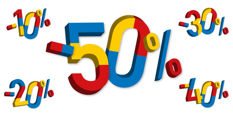 soldes - promos - prix - pourcentage - promotion - promotions - promo - réduction