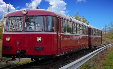 Historischer Schienenbus VT95