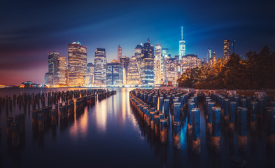 Fototapete - New-York skyline