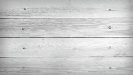 Black and white texture of wooden plank