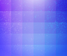 Blue purple checkered speckled background