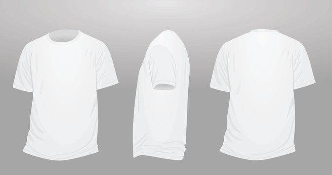 Classic t shirt. vector illustration