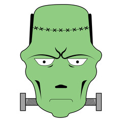Isolated frankenstein avatar