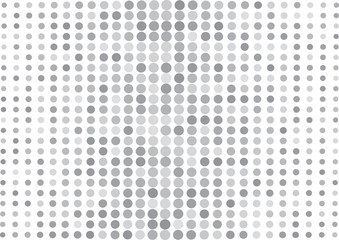 Abstract gray background, halftone dot pattern. Vector illustration